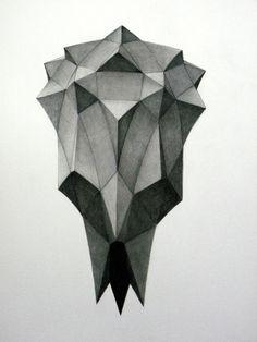 Polyhedra Warp drawings by Aleksandar Bezinovic