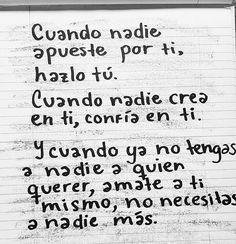 """21.3 mil Me gusta, 33 comentarios - Accion Poetica (@accionpoeticafrases) en Instagram: """"Quierete tu!"""""""
