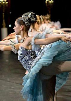 All the ballerinas in a row