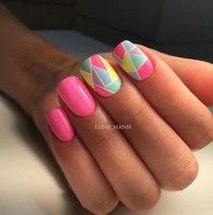 Nail Polish Designs, Acrylic Nail Designs, Nail Art Designs, Stylish Nails, Trendy Nails, Cute Nails, Shellac Nails, Pink Nails, Manicure
