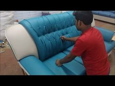 How to Make Diamond Sofa Step by step Making Wooden Living Room Furniture, Living Room Sofa Design, Wooden Pallet Furniture, Diy Furniture Upholstery, Furniture Sofa Set, Modern Sofa Designs, Sofa Set Designs, How To Make Sofa, House Front Wall Design