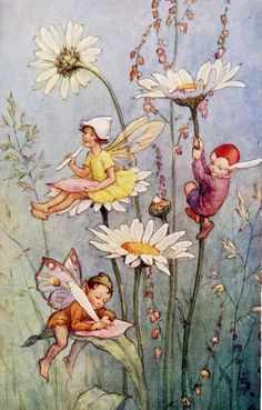 ≍ Nature's Fairy Nymphs ≍ magical elves, sprites, pixies and winged woodland faeries - The Faerie Folk