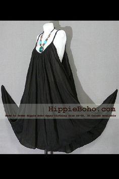 No.015 - Size XS-5X Hippie Boho Clothing Gypsy Maxi Plus Size Strap Black  Dress Maxi Long Dress