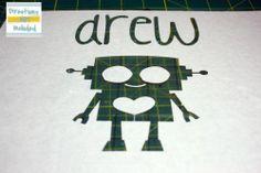 Freezer paper to make stencil on Cricut