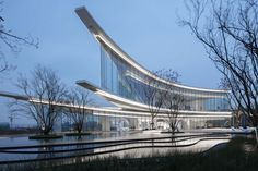 Gallery of Chongqing Jiangshan Yun Chu Gallery / LWK + Partners - 10 Architecture Panel, Architecture Portfolio, Classical Architecture, Amazing Architecture, Architecture Design, China Architecture, Architecture Models, Facade Design, Sustainable Architecture