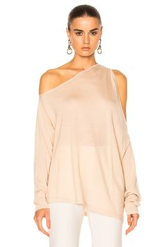 Image 1 of Dion Lee Falling Knit Sweater in Blush