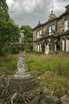 Beautiful and abandoned