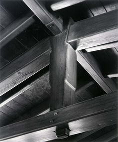 King Post, David R. Gamble House, Greene and Greene, Architects