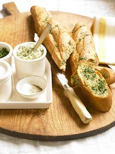 Here's the classic recipe you enjoyed as a child, updated with fresh garlic, parsley, and kosher salt. Look for a plump baguette that is soft and easy to pull apart.
