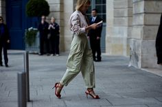 On the Streets of Paris Haute Couture Fall 2017 - -Wmag