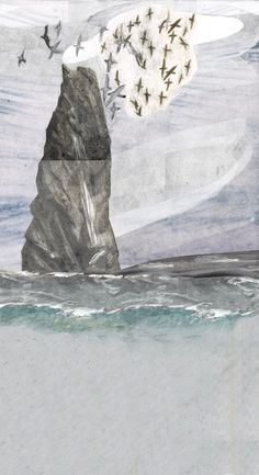 http://lostcontrolcollective.tumblr.com A working sketch of Stac Biorach. Stac Biorach is a sea stack situated between Hirta and Soay in the St Kilda archipelago of Scotland.