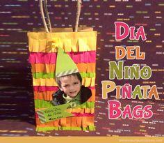 DIY Dia Del Niño Piñata Bags