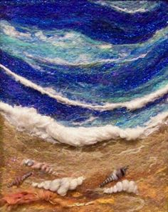 This needlefelting/fiber artist, Deebs, is amazing. I linked to her Etsy shop rather than her Flickr account since it's the nicer thing to do, and everything she's made is there.