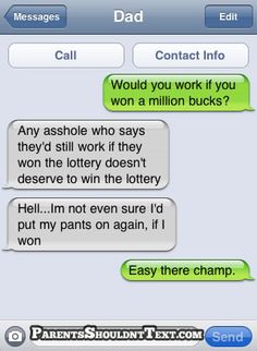 The Web Babbler: Funny Texts #47