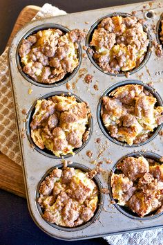 French Toast Muffins by ericasweettooth #French_Toast #Muffins