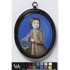 Portrait miniature of Richard Whitmore aged 3 (Miniature)  Date: 1718 (painted)  Place: England  Artist/maker: Lens, Bernard (III)