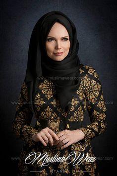 Chiffon Scarf Black color with decorative silk tassel.