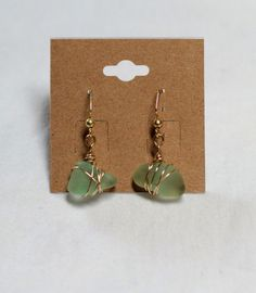 Green Sea Drops by OCEANbySteph on Etsy
