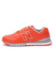 Paris vente en ligne New Balance 574 Revlite Orange et Gris et Blanche Chaussures de Fitness - Homme acheter en ligne avec paypal