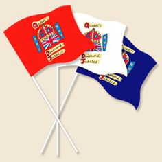 Diamond Jubilee flags
