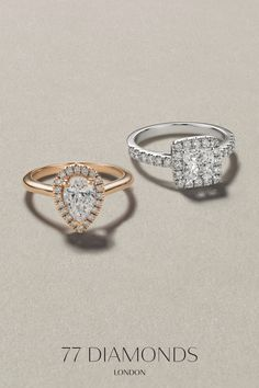 Engagement rings on sale 💍 Get up to off all engagement rings in our exclusive Black Friday sale ✨ 77 Diamonds, Engagement Rings Sale, Diamond Rings, Amazing Women, Gift Guide, Black Friday, Heart Ring, Anniversary, Wedding
