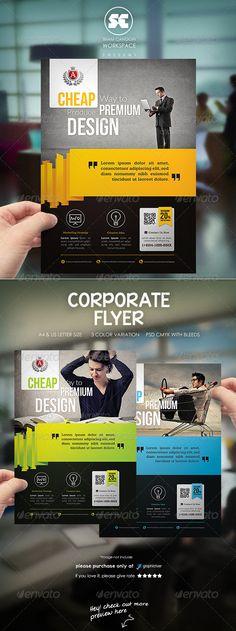 Corporate Flyer / Magazine Ads - Corporate Flyers