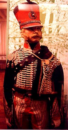 French hussar- Gen. LaSalle said that if they lived beyond 30 , they were blackguards !