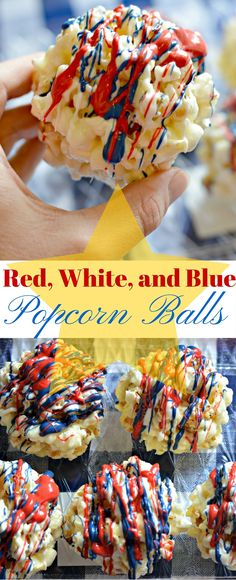 These Red, White, and Blue Popcorn Balls are a perfect addition to any Memorial Day or 4th of July celebration, and so easy to make too!