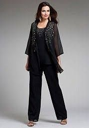 Resultado de imagen para plus size pants suits for weddings Plus Size Pants, Plus Size Dresses, Plus Size Outfits, Dressy Pant Suits, Plus Sise, Plus Size Formal, Pantsuits For Women, Mob Dresses, Elegant Outfit