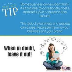 Think before you hit that post button! via @kimgarst  http://ift.tt/1H6hyQe Facebook/smpsocialmediamarketing @smpsocialmedia