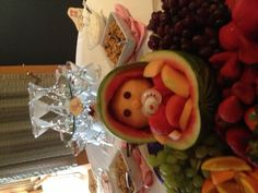 Such a cute baby shower food idea...