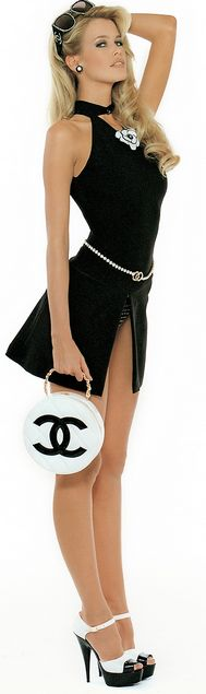 Claudia for Chanel..