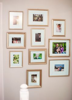 paint on frames is from Michaels called Elegant Finish made by DecoArt. The color is Luminous Gold.
