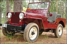 Beautiful Jeep Willys CJ-2A