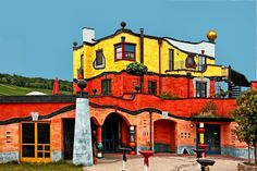 The Flying Tortoise: Frederick Hundertwasser Was One Of The Most Exciting And Imaginative Architects Our World Has Seen...