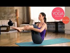 Strong Abs Routine | The Yoga Solution with Tara Stiles - yoga video