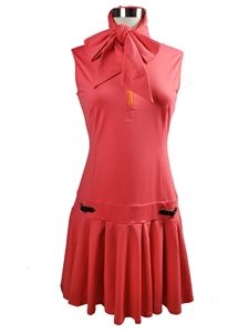 Schriffen Anna Dress in Coral- Stylish golf clothing for women. It's about more than golfing,  boating,  and beaches;  it's about a lifestyle  KW  http://pamelakemper.com/area-fun-blog.html?m