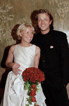 Ślubne zdjęcia gwiazd  Ślub Joanny Sarapaty i Jarka Jakimowicza w roku 1998 roku