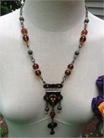 Renaissance Gypsy - Jewelry Vintage upcycled necklace