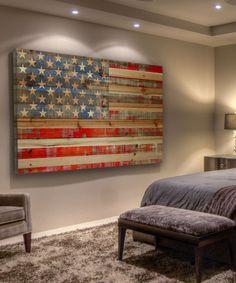 American Flag Wood Wall Art | Decor | Pinterest | Wood wall art Wood walls and Flags & American Flag Wood Wall Art | Decor | Pinterest | Wood wall art ...