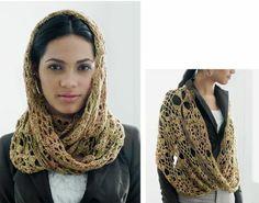 Crochetemoda: Cachecol de Crochet