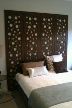 balinese design bedhead idea
