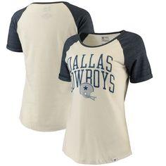 Fanatics Branded Dallas Cowboys Women s Cream True Classics Short Sleeve T- Shirt 43bb761e9