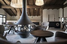 Gfell: A hotel under the barn | noa* network of architecture; Photo: Alex Filz | Archinect Underground Hotel, Open Bathroom, South Tyrol, Sound Proofing, Hotel S, Wooden Flooring, New Room, Amazing Architecture, Contemporary Design
