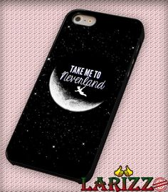 """Disney Peter Pan Take Me To Neverland  for iPhone 4/4s, iPhone 5/5S/5C/6/6 , Samsung S3/S4/S5 Case """"005"""""""