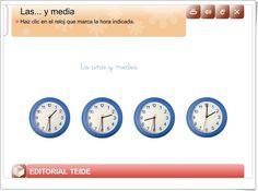 """""""Las... y media"""" (Editorial Teide)"""