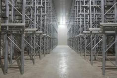www.olympiassa.com   Inside an 800 pallet deep freeze room in our warehouse 3.200m³ . Olympias S.A. can also offer warehousing services for frozen and deep frozen products in a range of temperature from -30 to +30 C.