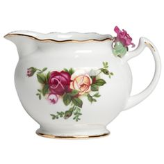 Royal Albert Old Country Roses Rose Bouquet Creamer