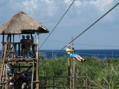 Fly High Adventures Zip Line And Beach Resort in Cozumel, Mexico
