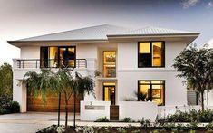 Fachadas de Casa confira estilos e tendências ( de 100 fotos) Future House, My House, Dream House Exterior, Facade House, House Goals, Modern House Design, Home Fashion, My Dream Home, Exterior Design